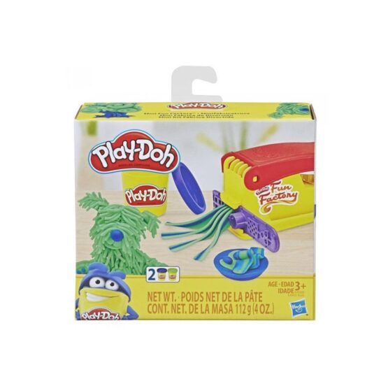 Play Doh Mini Fun Factory Shape Making Toy with 2 Colors