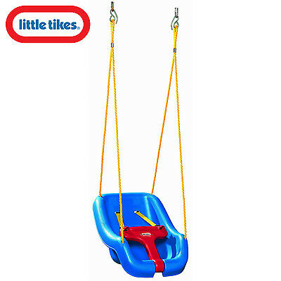 Little Tikes 2 in 1 Snug n Secure Swing Blue