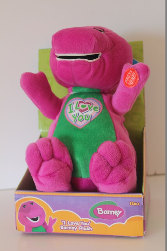 'I Love You' Barney Plush