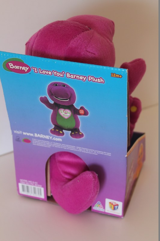 Toys And Love : 'i love you barney plush kenzi online
