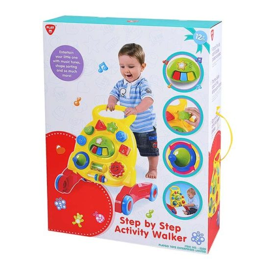 Play Go Step by Step Activity Walker