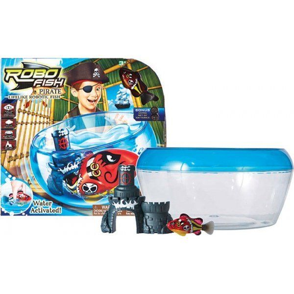 Zuru robo fish pirate play set kenzi online for Zuru robo fish