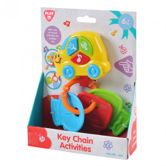 Play Go Key Chain Activity Set