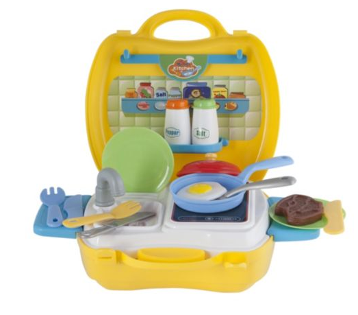 play go my carry along kitchen - 22 pieces - kenzi online
