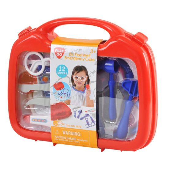 Play Go Dr. Feel Well Emergency Case 12 Pieces