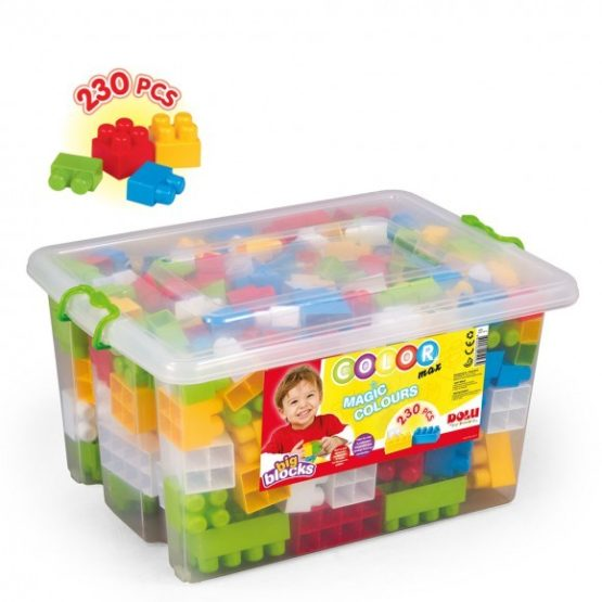 Dolu Big Block in Plastic Box 230 Pcs