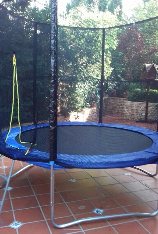 Trampoline with protection 3m kenzi online - Protection trampoline ...