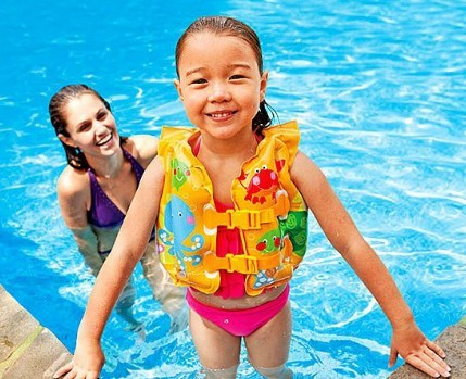 Intex Fun Fish Inflatable Swim Vest