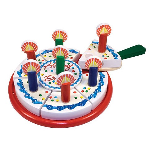 Birthday Party Cake – Wooden Play Food