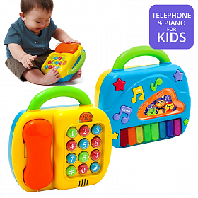 Play Go 2 in 1 Telephone & Piano