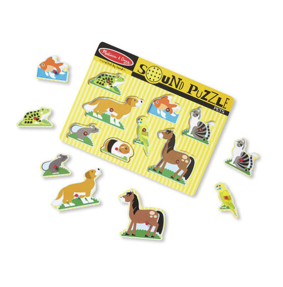 Pets Sound Puzzle – 8 Pieces