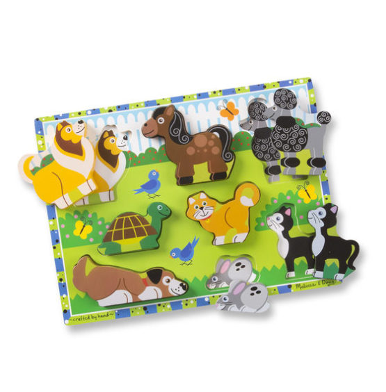 Pets Chunky Puzzle – 8 Pieces