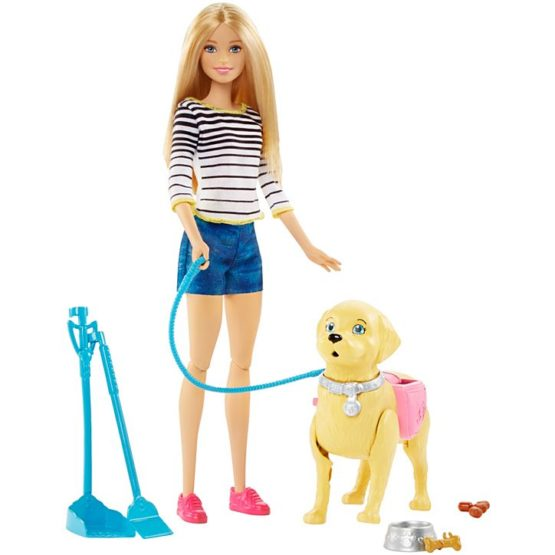 Barbie® Walk and Potty Pup