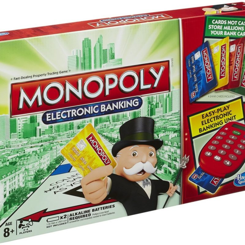 instructions on how to play monopoly electronic banking