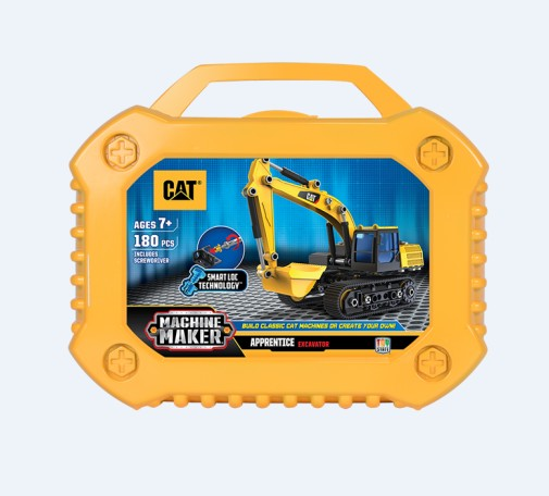 Cat Apprentice Machine Maker Excavator