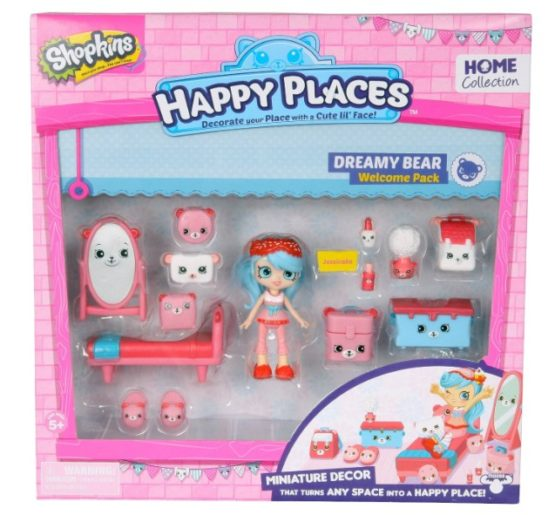 Happy Places Shopkins Welcome Pack -Dreamy Bear