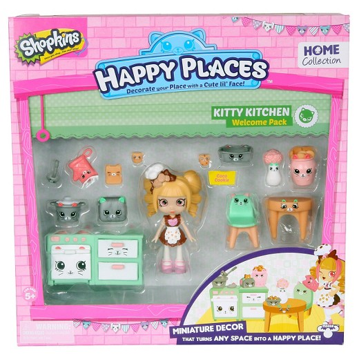 Happy Places Shopkins Welcome Pack -Kitty Kitchen
