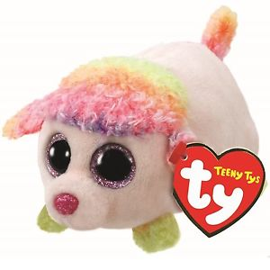 Teeny Tys Floral – Multicolor Poodle 10 cm
