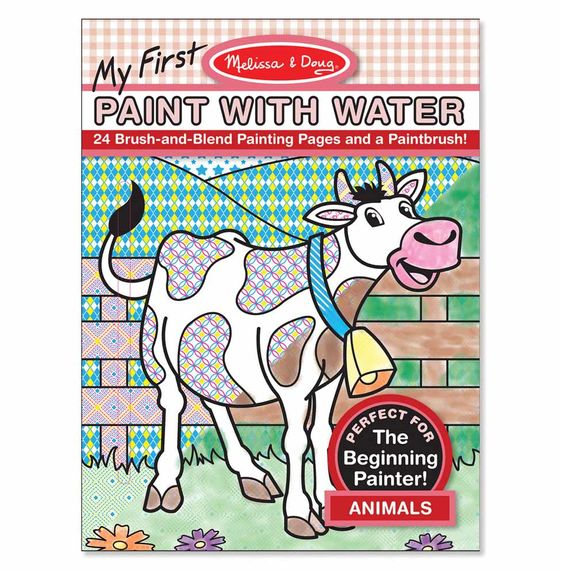My First Paint with Water – Animals