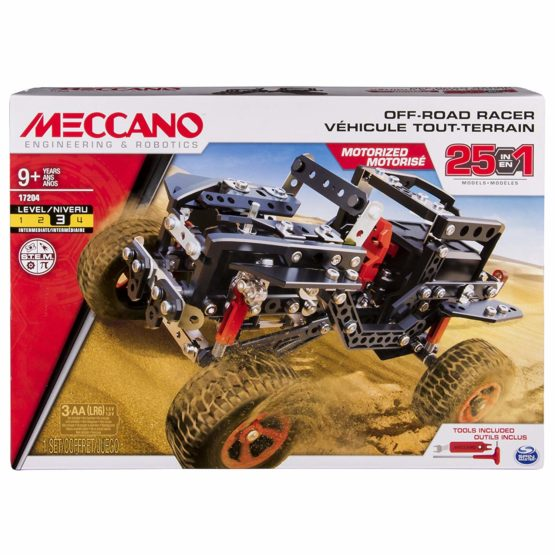 Meccano Erector, Motorized Off Road Racer