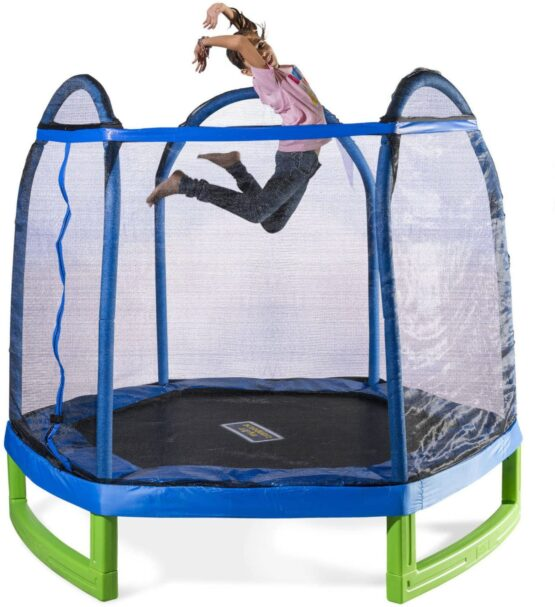 Yarton Trampoline with Protection 7 FT  | 2.1 m