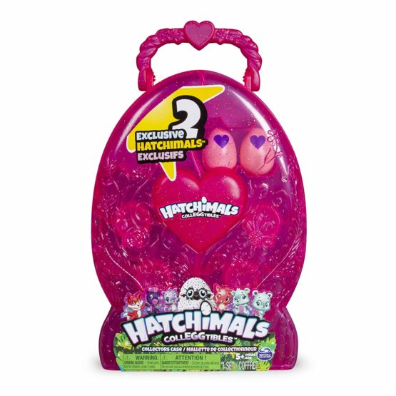 Hatchimals CollEGGtibles Collector's Case with 2 Exclusive Hatchimals CollEGGtibles
