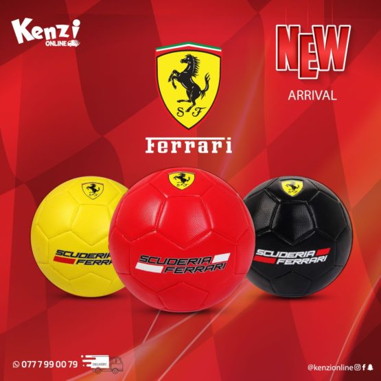 Ferrari Special Edition Soccer Ball – 3 Colors