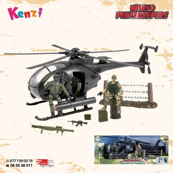 World Peace Keepers – Combat Helicopter