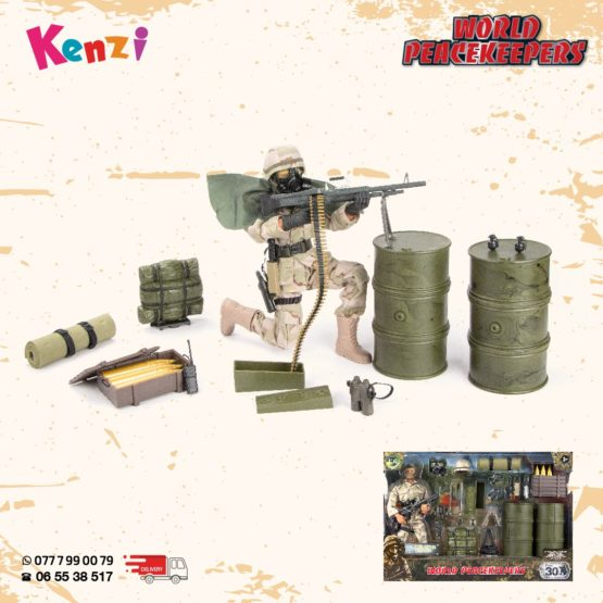 World Peace Keepers – Delta Force Playset