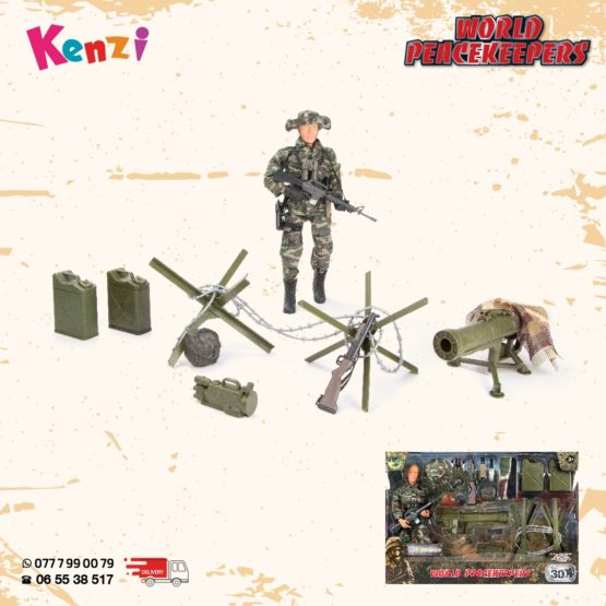 World Peace Keepers – Marine Play Set