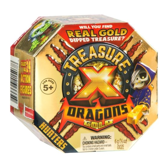 Treasure X Dragons Gold – Hunters Pack – Single Pack
