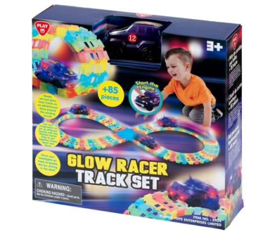 Play Go Glow Racer Track Set
