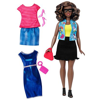 Barbie Fashionistas 39 Emoji Fun Doll & Fashions – Curvy