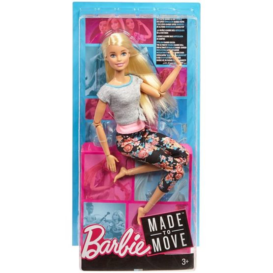 Barbie Made to Move Blonde Hair FTG81