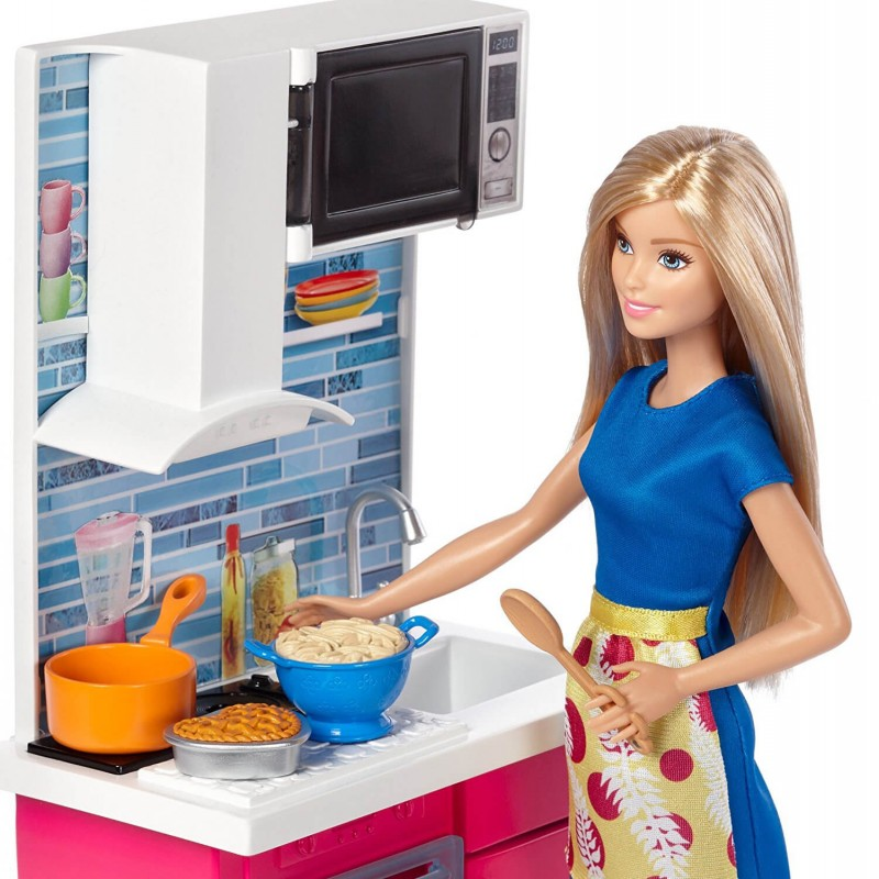 barbie-furniture-kitchen-and-doll
