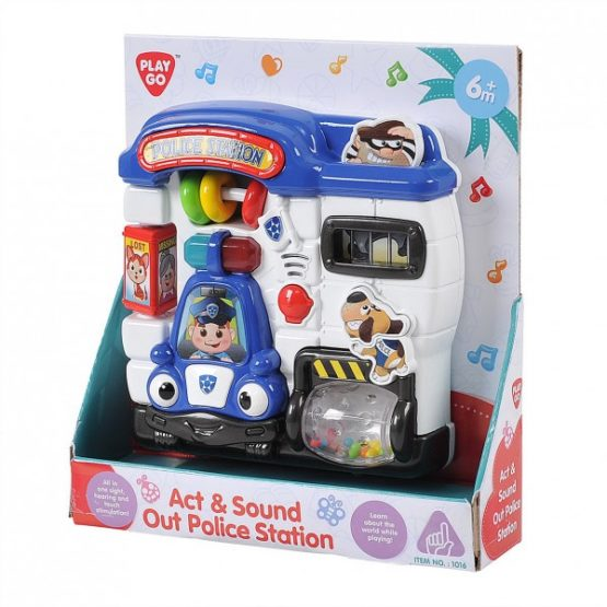 Play go Act and Sound Out Police Station