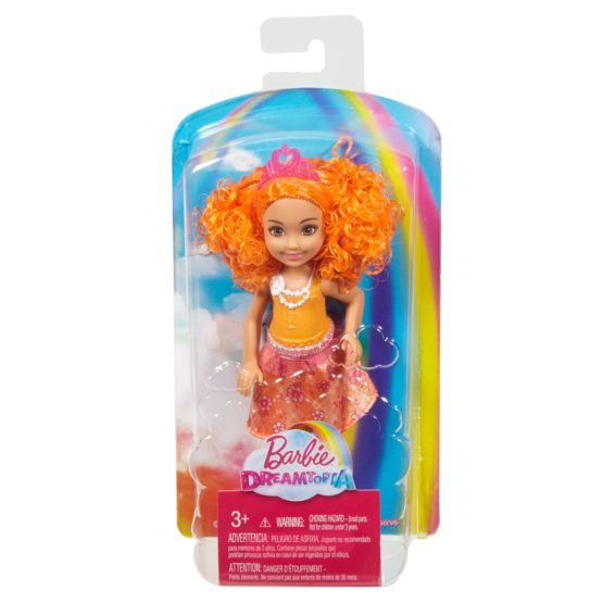 Barbie™ Dreamtopia Orange Rainbow Cove Chelsea Sprite Doll