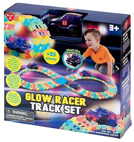 Play Go Flexi Racer LED Racer Set