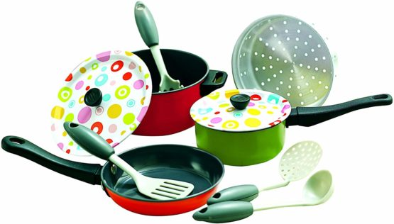 PlayGo Metal Cookware Coloured Tin 6838