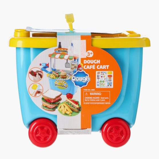 Play Go Dough Cafe Cart Playset
