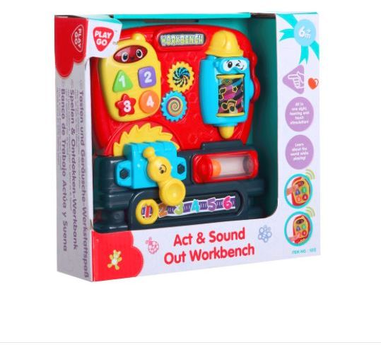 Play Go Act & Sound Out Workbench