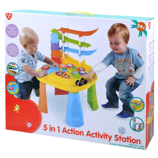 Play Go 5 In 1 Action Activity Station