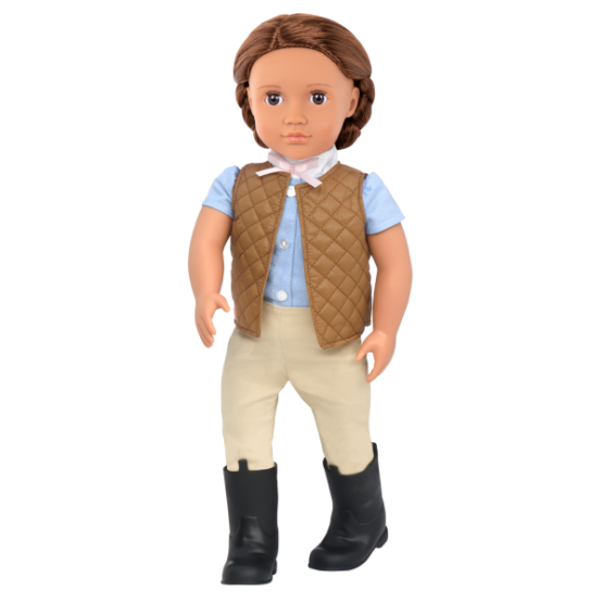 OG Catarina Doll With Riding Outfit