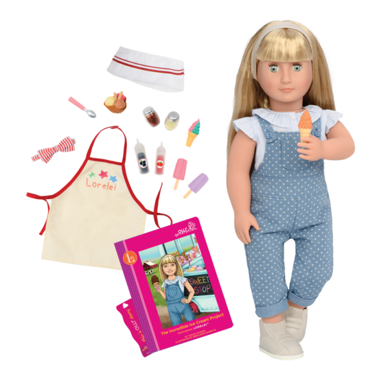 OG Deluxe Lorelei Doll With Book