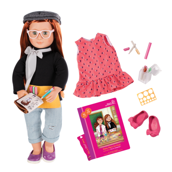 OG Deluxe Twin Doll Sabina With Book