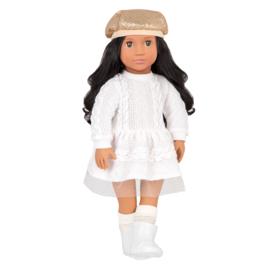 OG Talita Doll With Dress & Hat Outfit