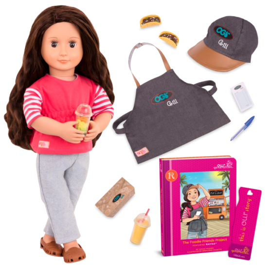 OG Deluxe Rayna Doll Food Truck With Book