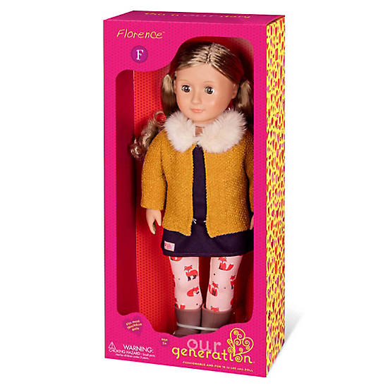 OG Doll With Fox Tights And Vest Florence