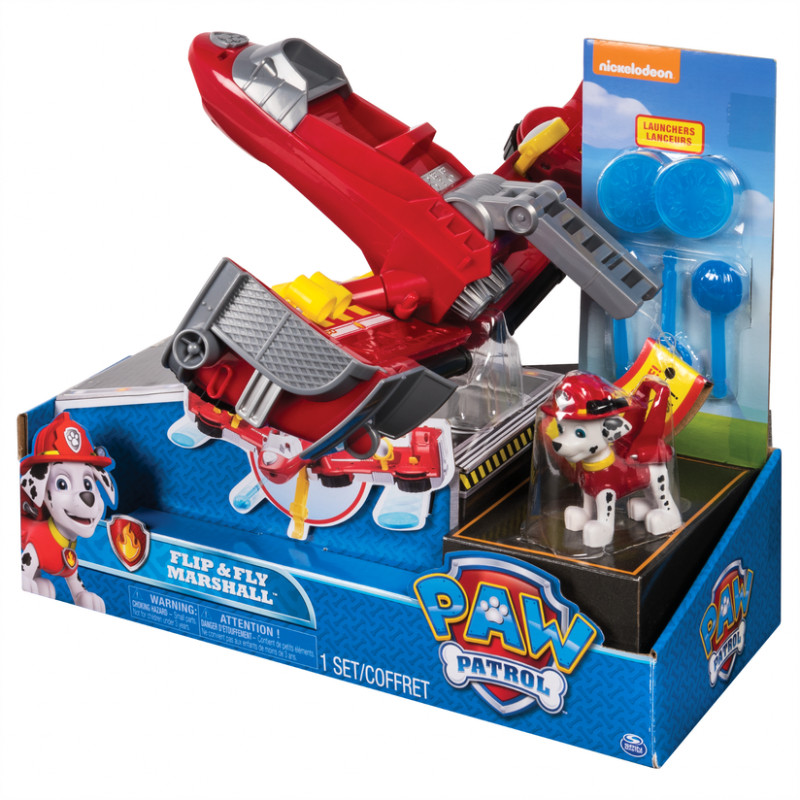 Paw Patrol – Flip & Fly Marshall 2-in-1 Transforming Vehicle