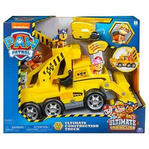Paw Patrol Ultimate Rescue Construction Truck – Yellow